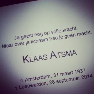 Klaas Atsma